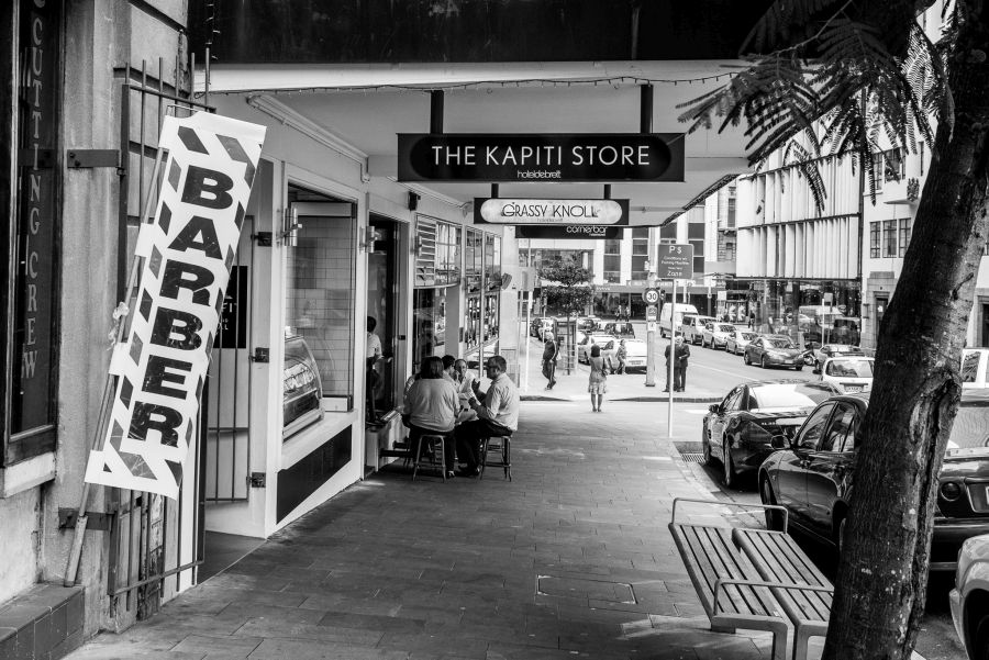 The Kapiti Store on Shortland Street, Auckland
