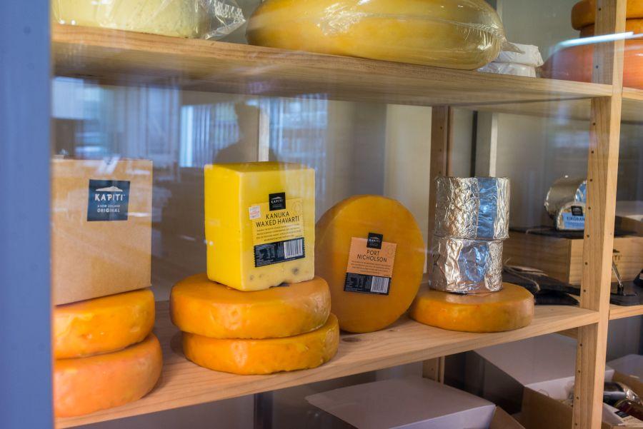 Cheeses in The Kapiti Store