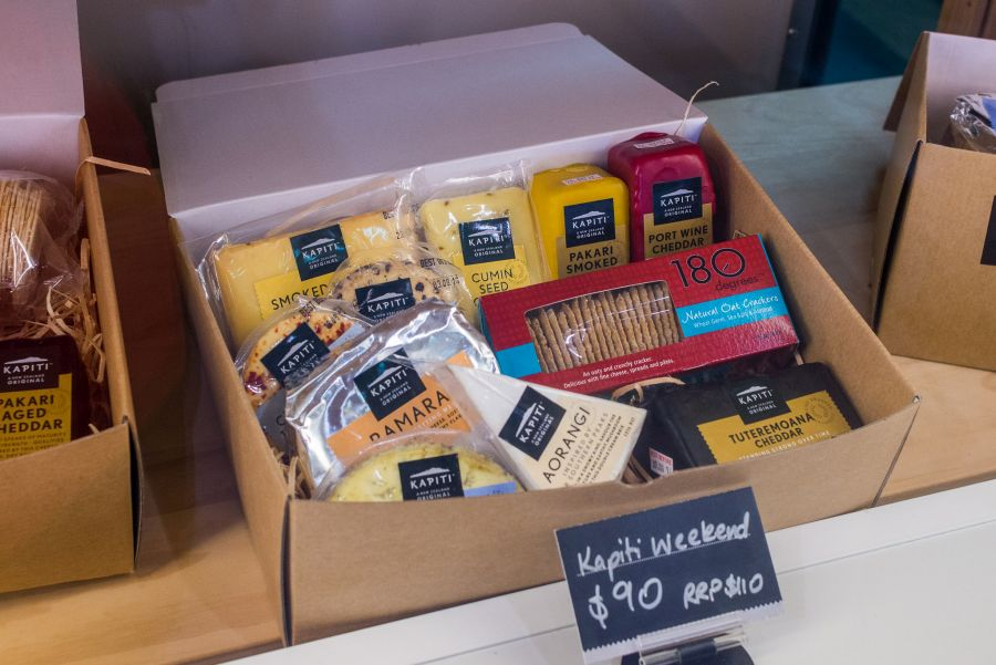Buy a box of cheeses and have a Kapiti Weekend