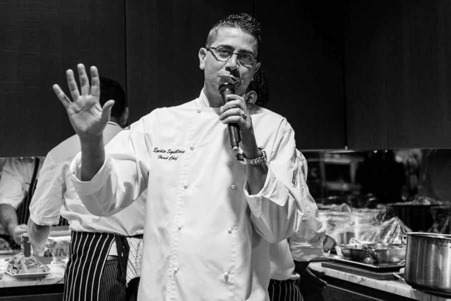 Chef Egidio Squillace (Event Style)