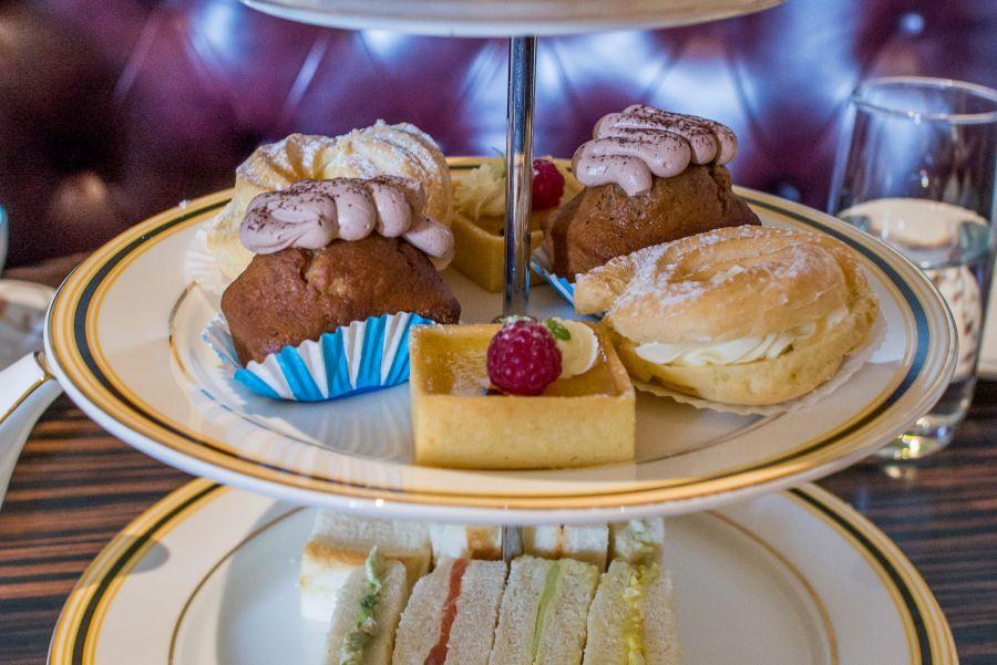 Paris-Brest, sticky date cake, passionfruit tart