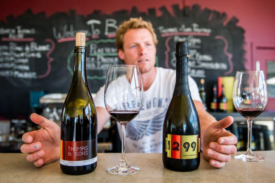 Wine tasting with Daniel