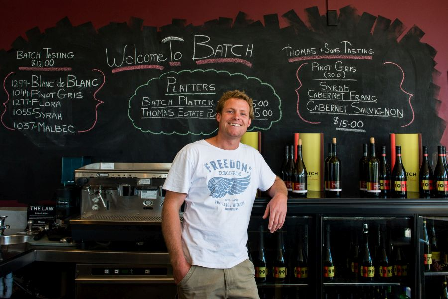 Daniel Struckman, winemaker at Batch Winery