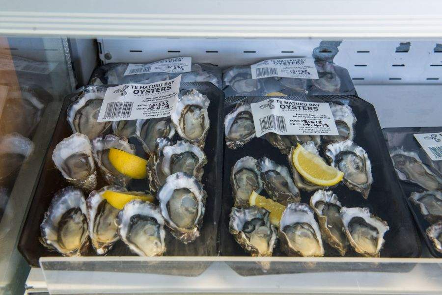 Te Matuku Bay oysters for sale