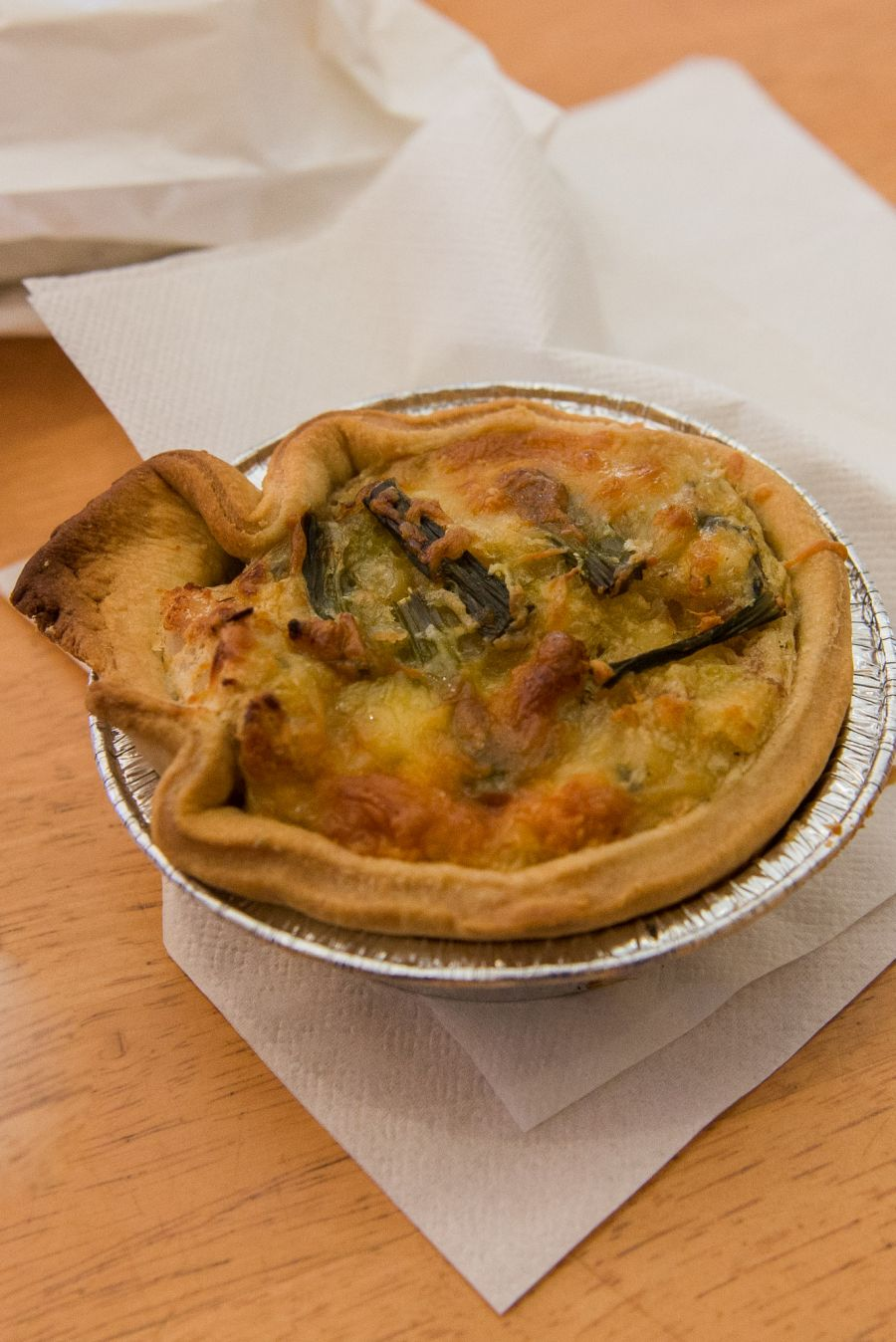 Chicken and asparagus pie