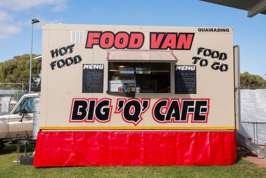 Big Q Cafe - food van from Quarading