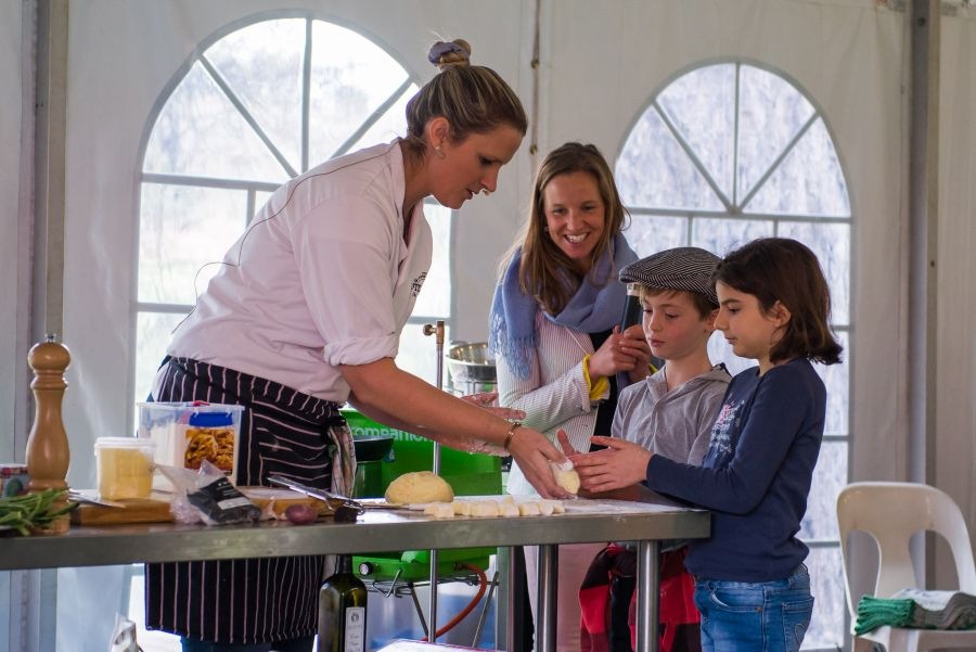 From Paddock to Plate: Chef Sophie Budd makes truffled gnocchi with the kids