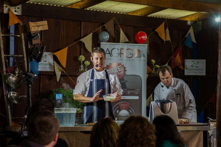 Masterclass: Chefs Kiren Mainwaring and Sven Hug