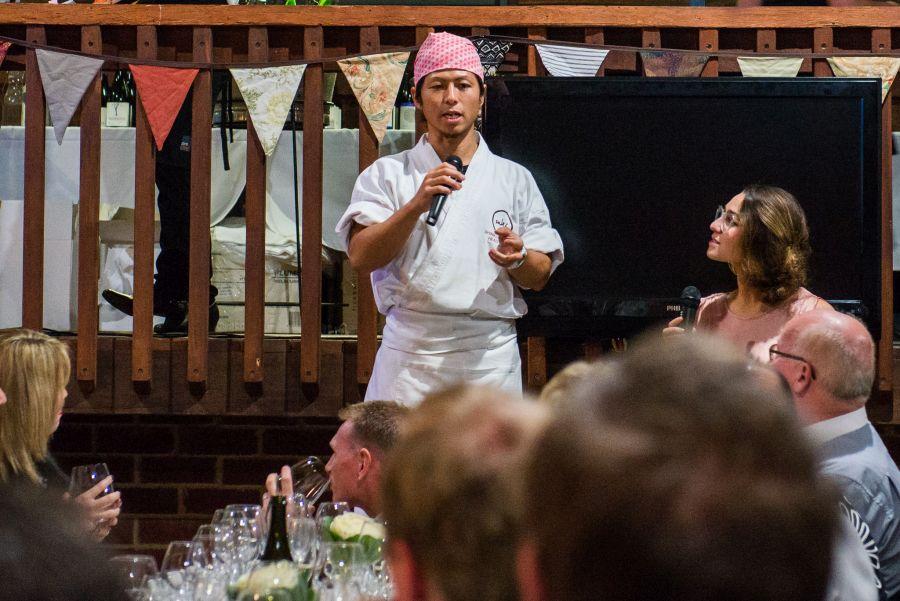 Chef Shinichi Maeda of Sake Restaurant & Bar, Brisbane