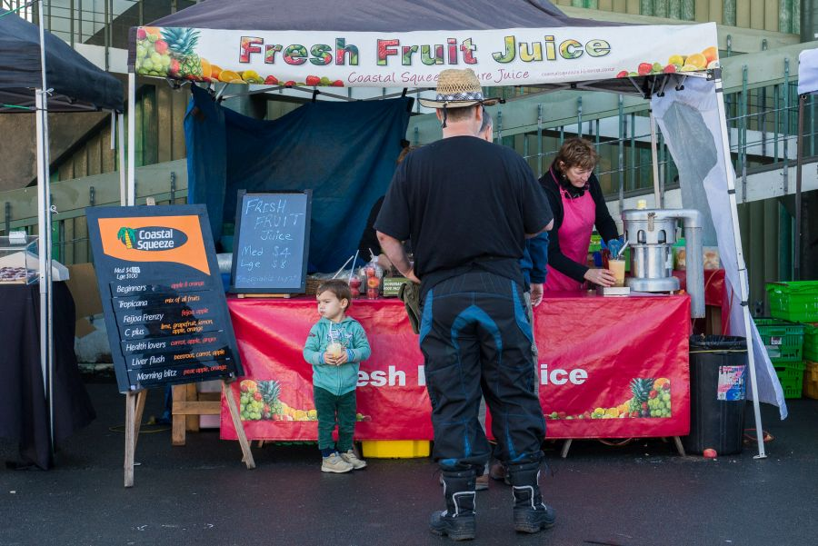 Coastal Squeeze fresh fruit juice