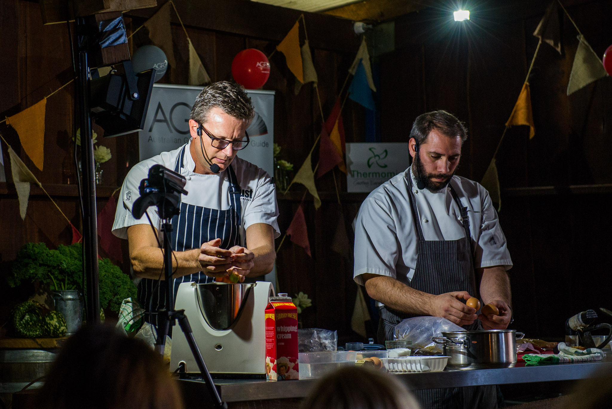 Masterclass: chefs Russell Blaikie, MUST Winebar and Muster Bar & Grill Margaret River, and Hadleigh Troy, Restaurant Amusé