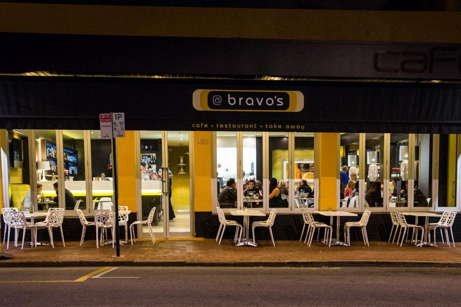 Bravo's frontage