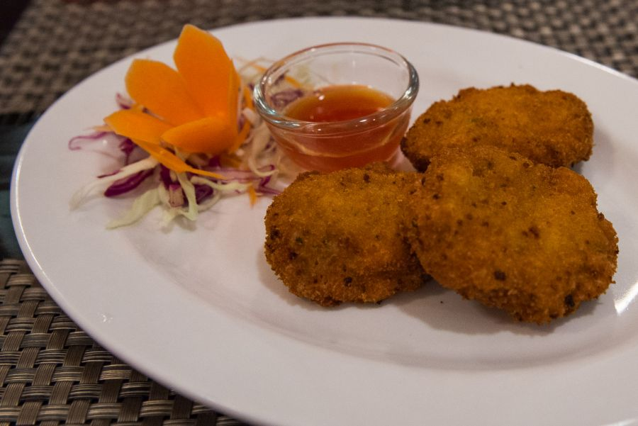 Red Crab's crab cakes (NZ$12.50)