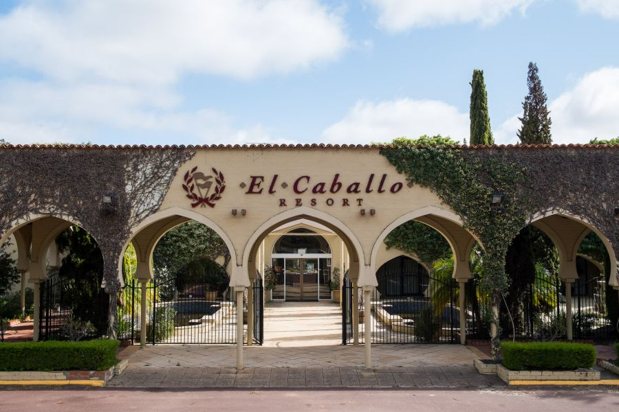 El Caballo Resort entrance