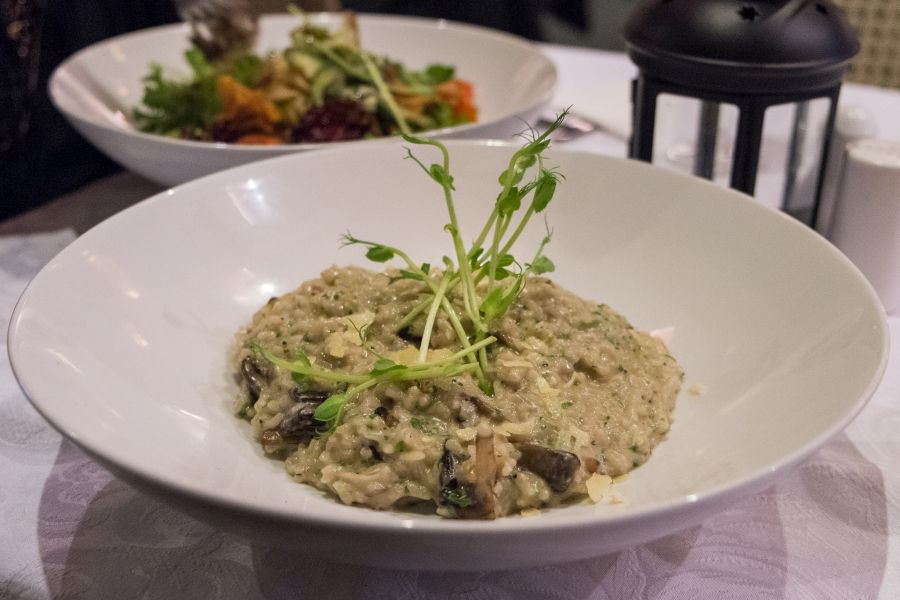 Earthy wild mushroom risotto (AU$26)