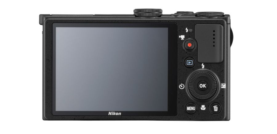 Back view of the Nikon Coolpix 330 - a nice big, bright screen