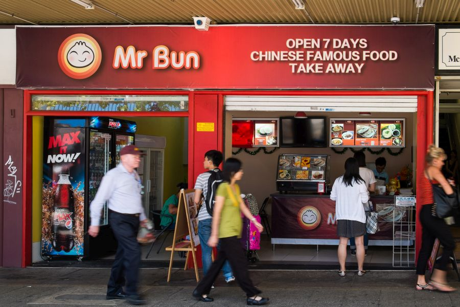 Mr Bun, Murray Street