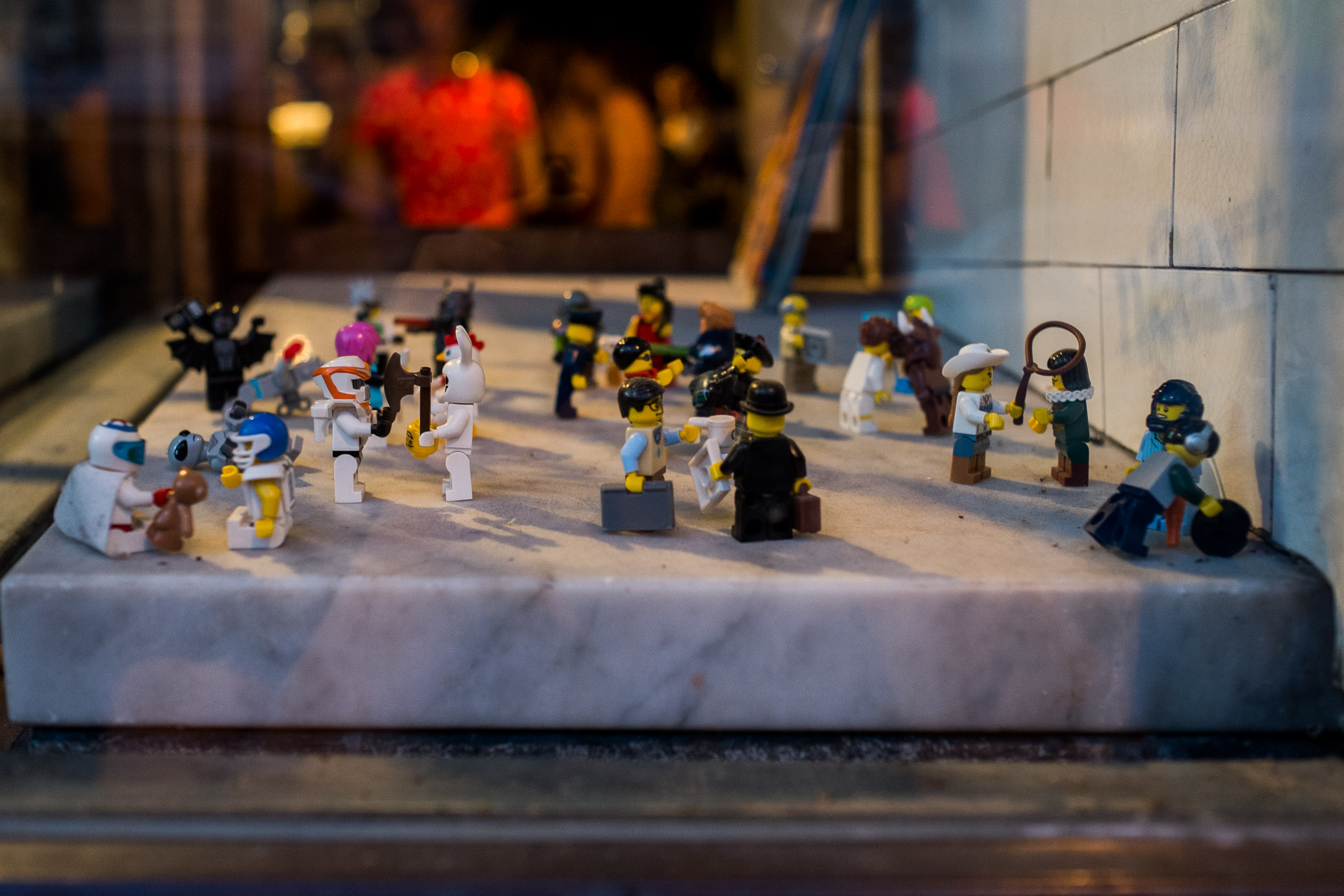 Any place with LEGO people in their front window has to be awesome!