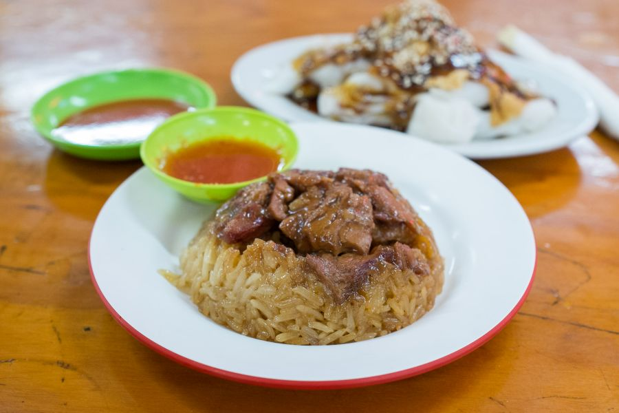 Loh mai kai (glutinous chicken rice)