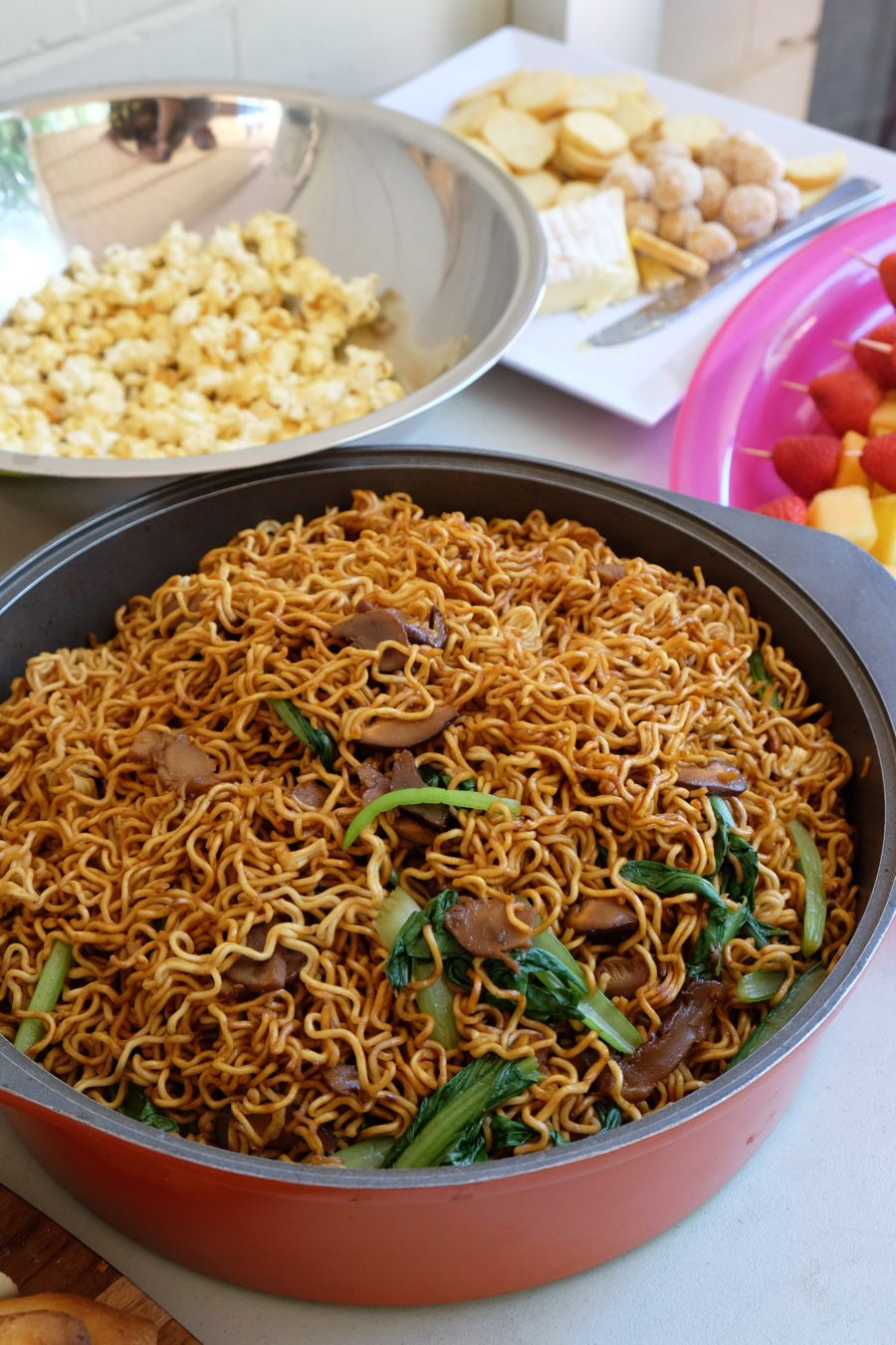 My mum's fried noodles for lunch
