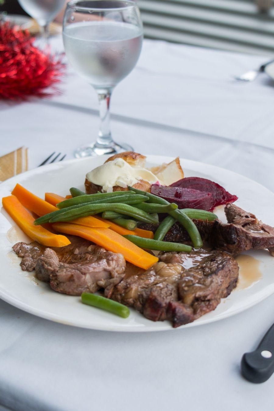 King Island roast beef