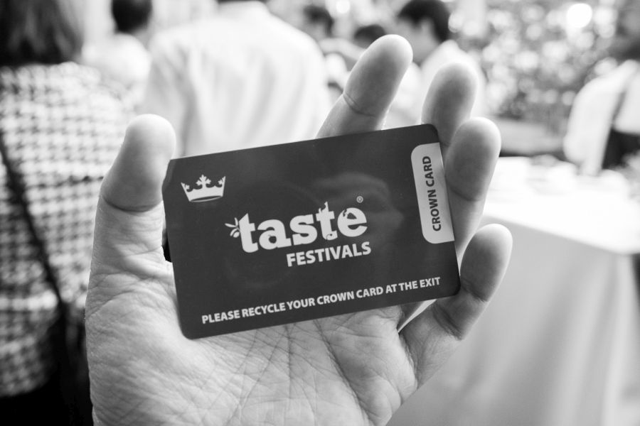 Taste Crown card