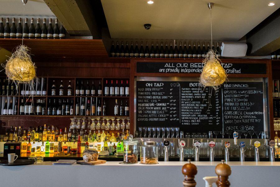 The Quarry Salamanca bar