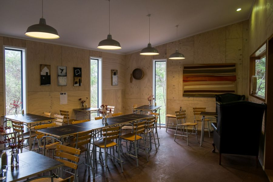Cafe dining room