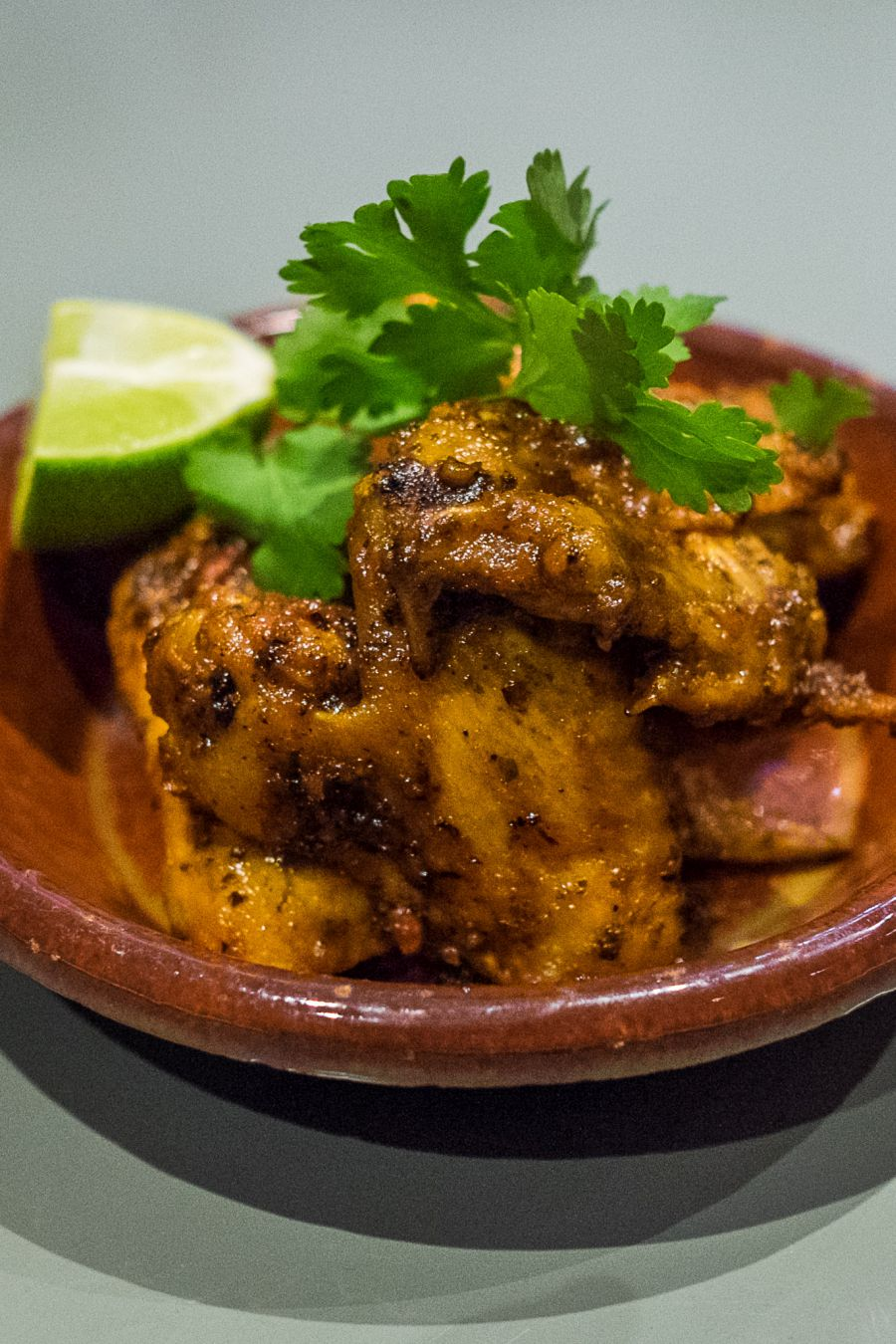Fried harissa chicken wings (AU$16)
