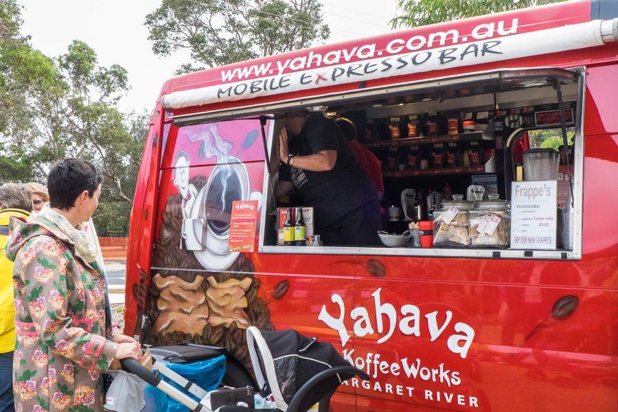 Yahava coffee van