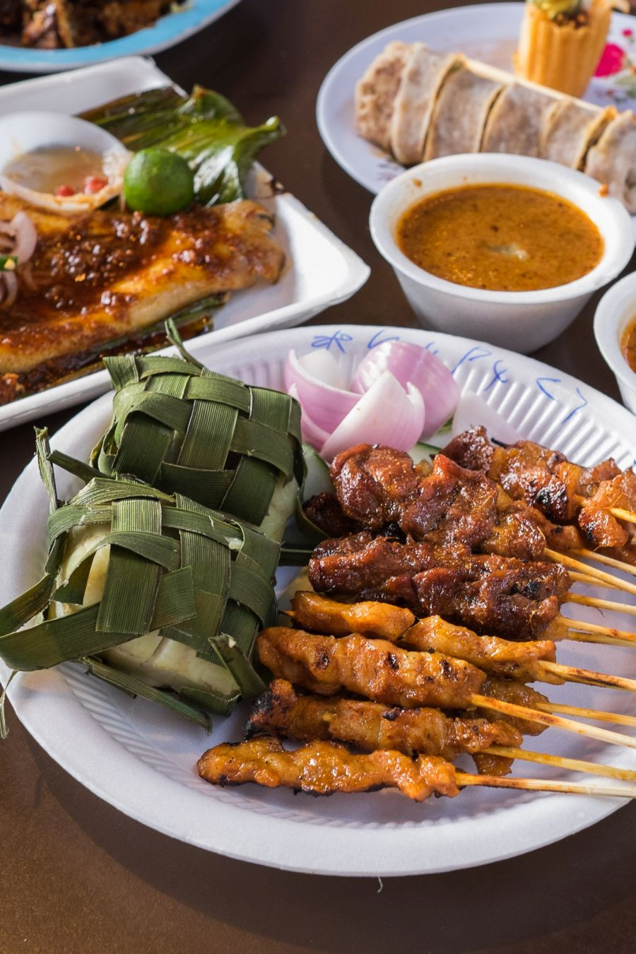Satay - chicken, mutton, pork