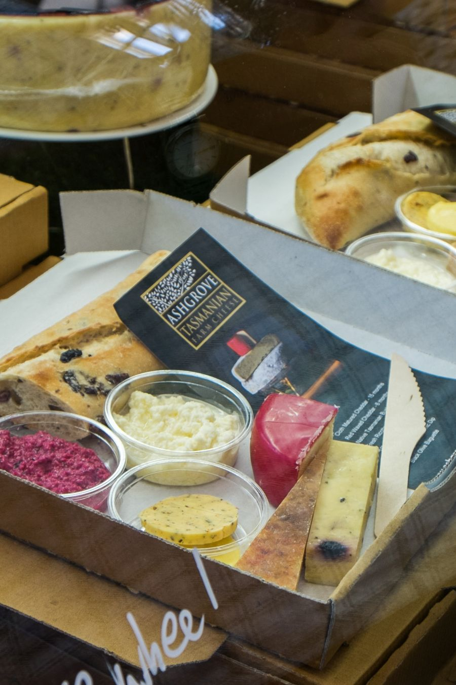 Ashgrove Tasmanian Farm cheese tasting boxes