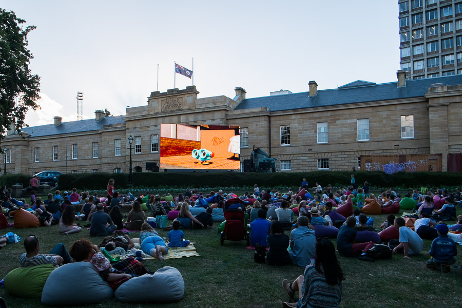 Twilight Cinema on Parliament House Lawns
