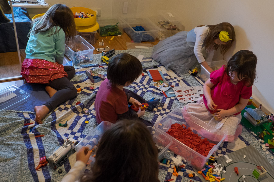 The LEGO room 'Everything is awesome!'