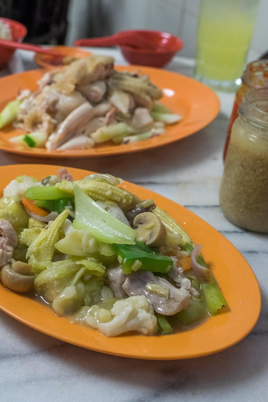 Mixed chop suey