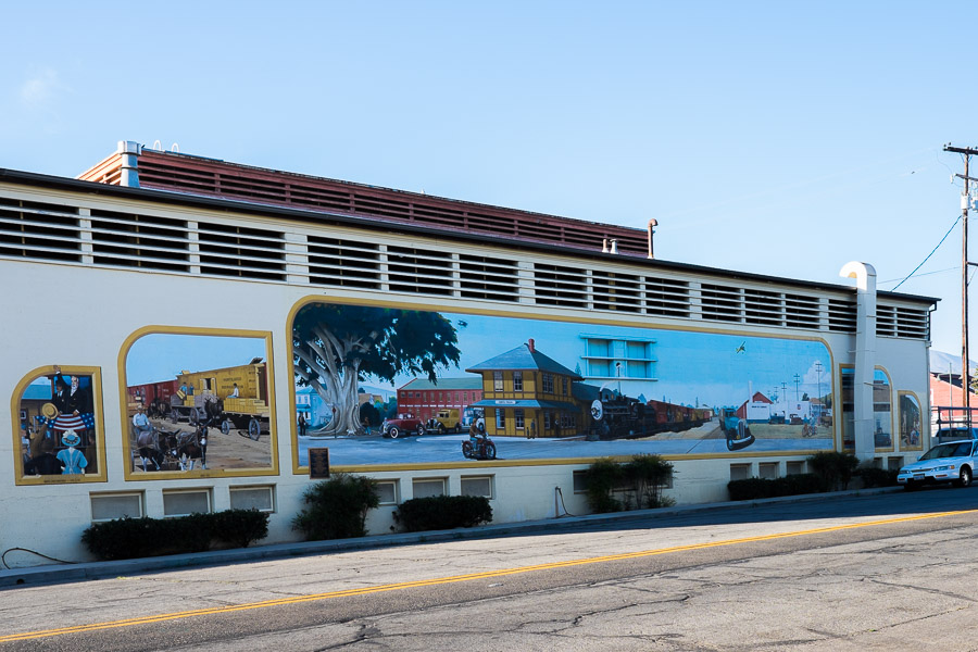 Transport in Time & Place: Trains, Planes & Automobiles, 1890s-1940s by Wendell Dowling, at 815 Santa Barbara Street - Ventura County Agriculture building