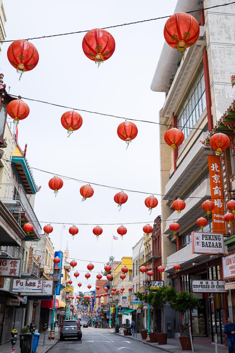 Lanterns on Grant Street, Chinatown