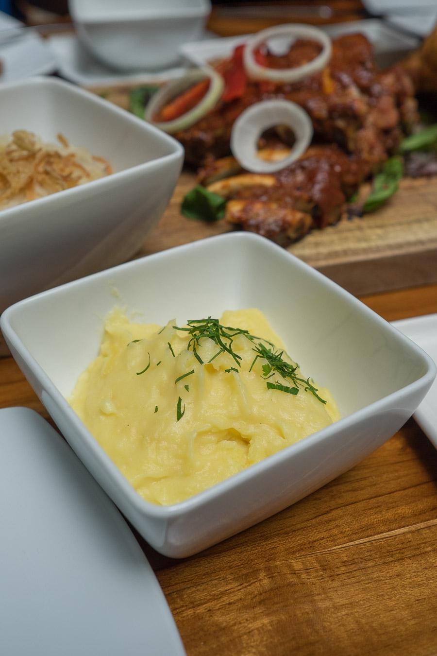 Mashed potato side