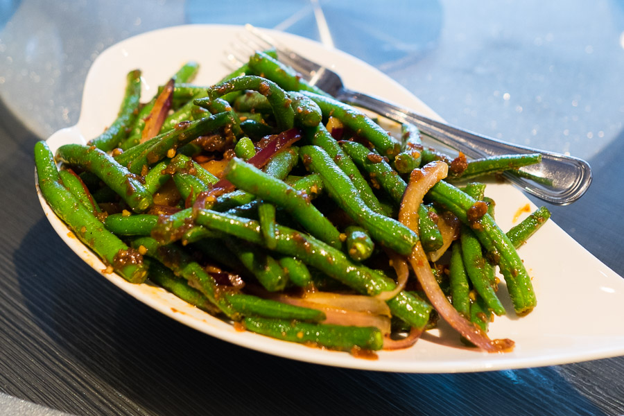 Sambal belacan green beans