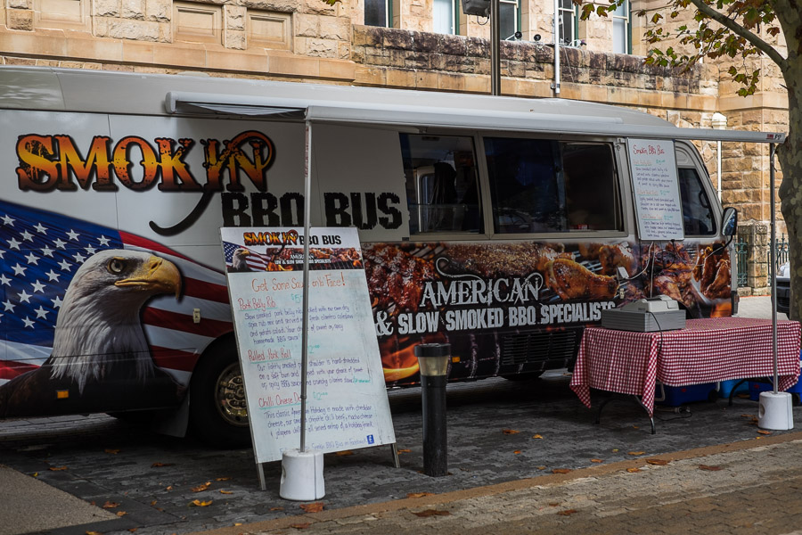 Smokin' BBQ Bus