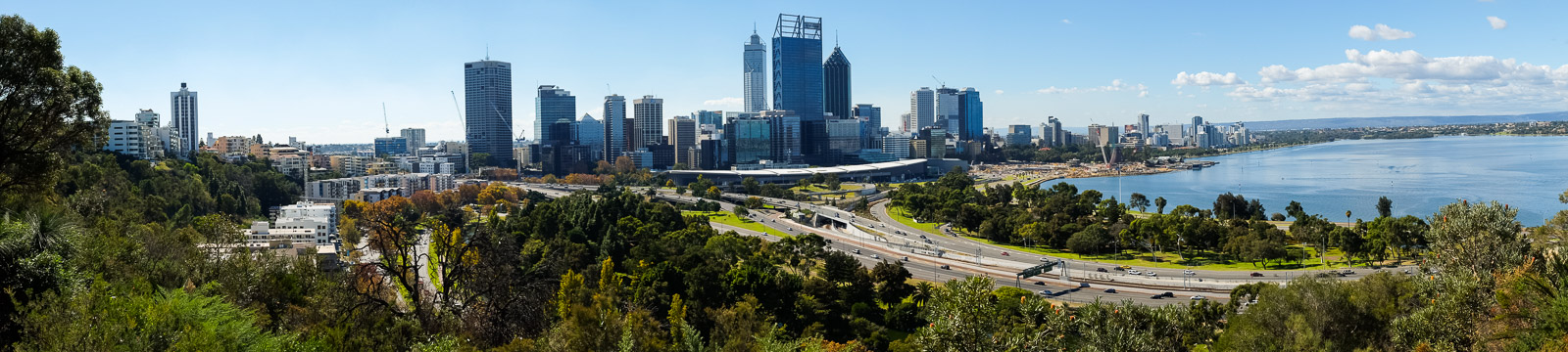 A gorgeous  autumn day in Perth.