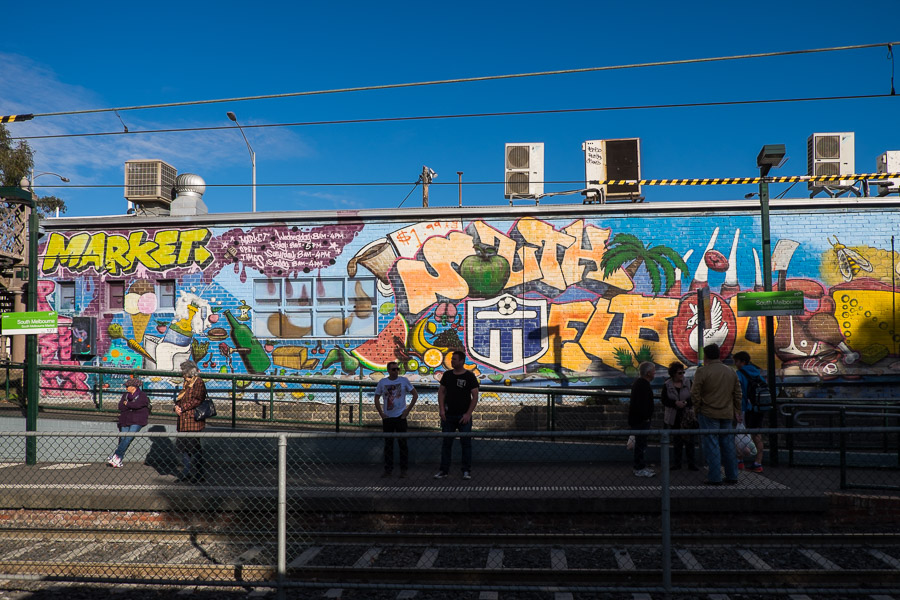 South Melbourne tram station