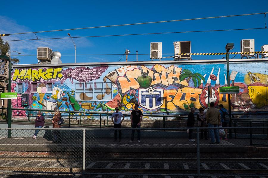 South Melbourne tram station
