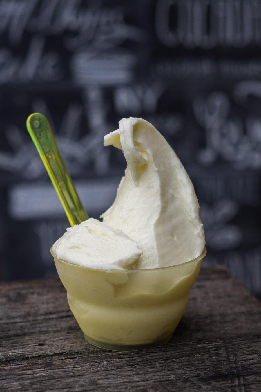 Helados Jauja - durian ice cream