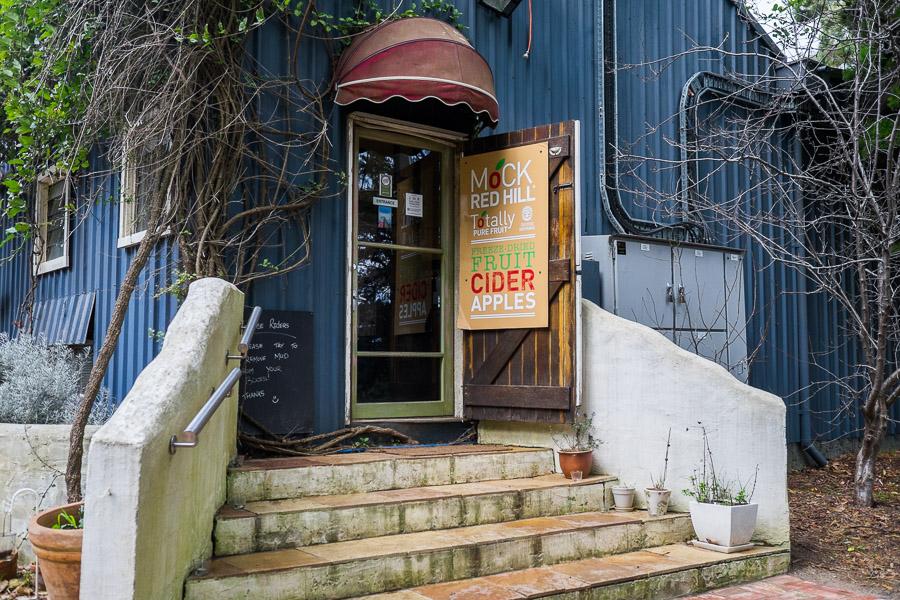 Mock Cider shop