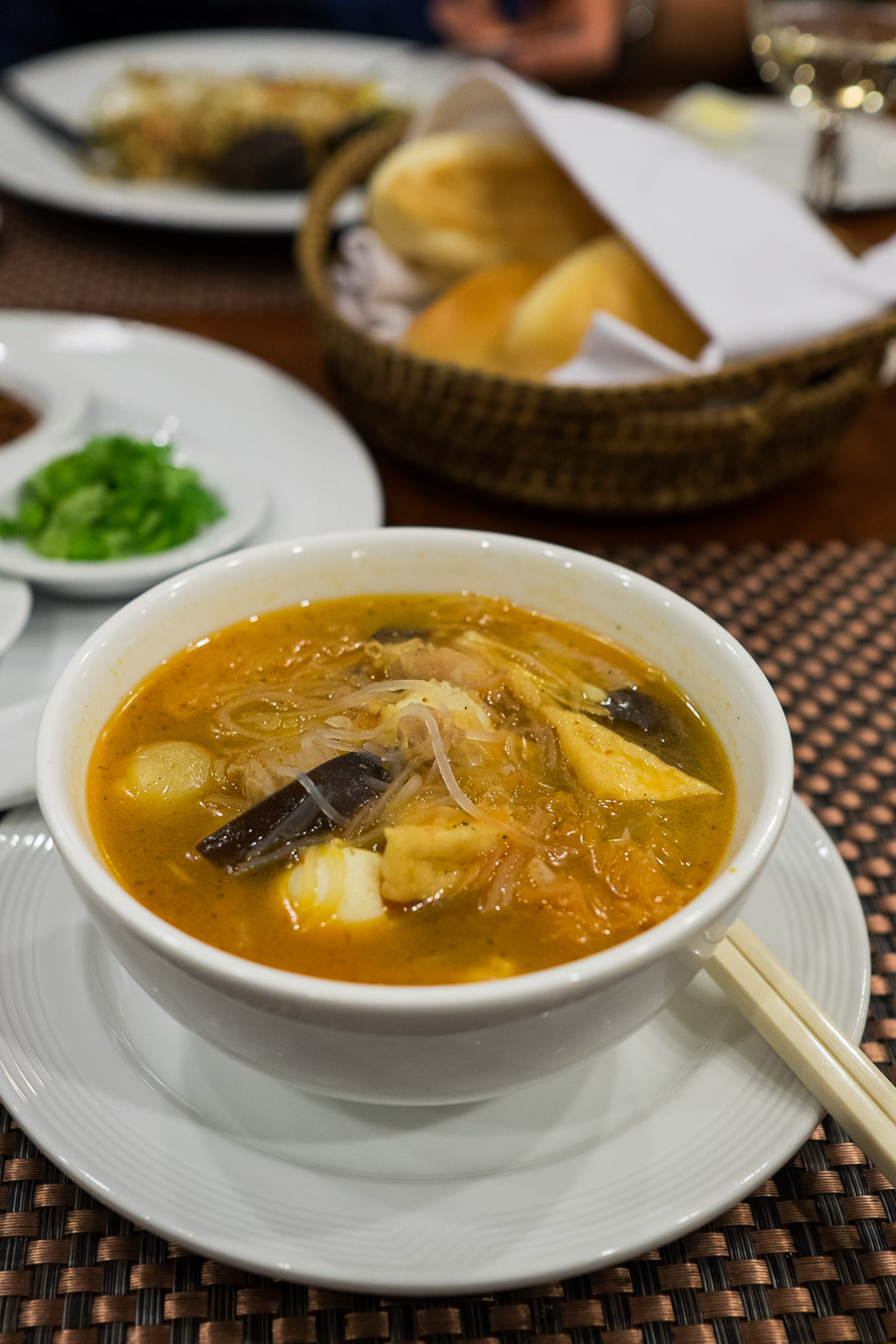 Kyar San Him Khar - Myanmar chicken soup
