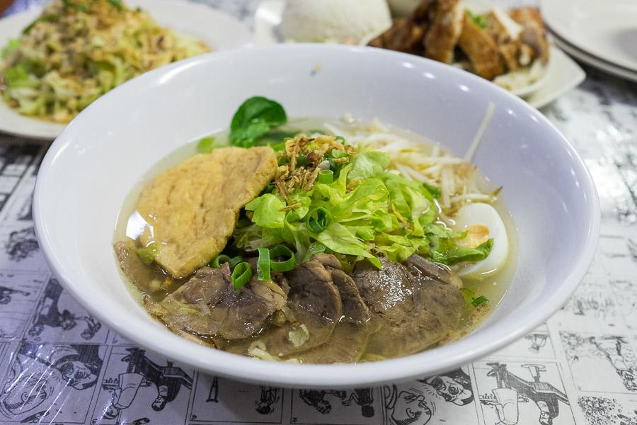 Homemade noodle beef brisket soup (AU$14.90)