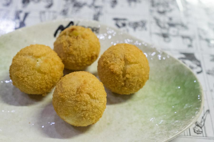 Durian balls (AU$5.50, 4 pcs)