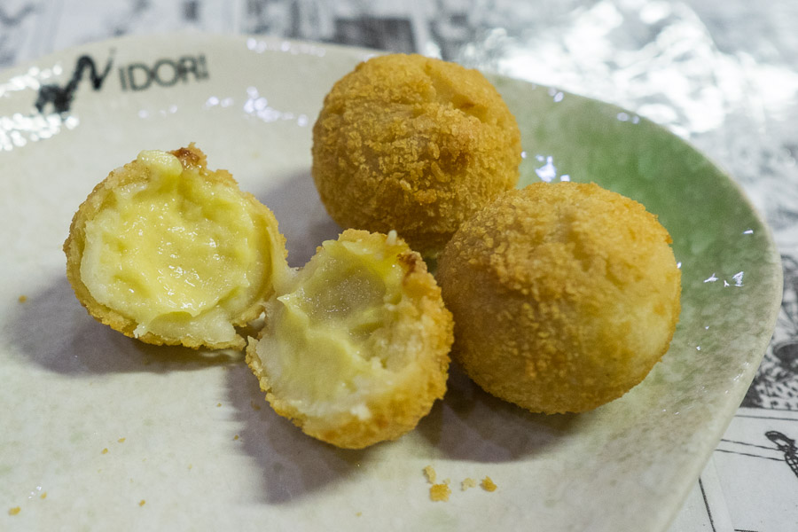 Durian ball innards