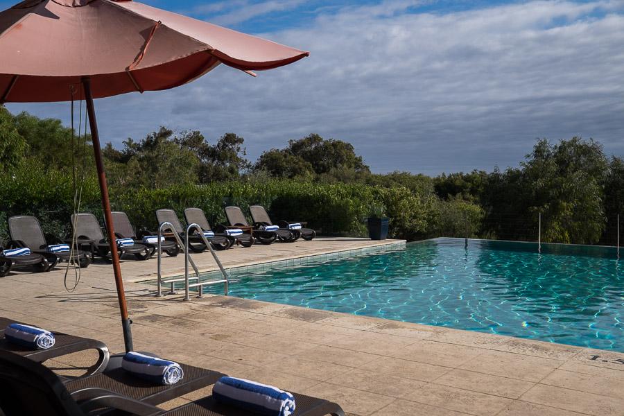 Infinity pool at Pullman Bunker Bay Resort